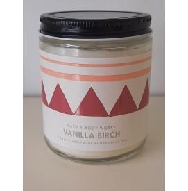 Vanilla Birch 1-Docht Kerze...