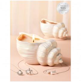 Duftkerze Seashell (Halskette)
