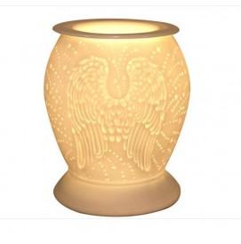 Elektrische Duftlampe Angel Wings aus Porzellan