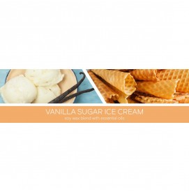 Vanilla Sugar Ice Cream 411g 3-Docht