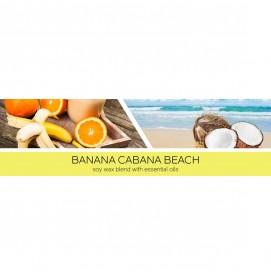 Banana Cabana Beach 411g 3-Docht
