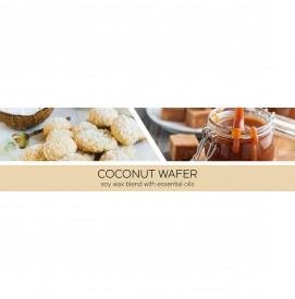 Coconut Wafer 411g 3-Docht