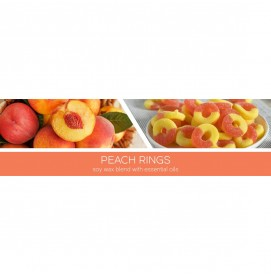 Peach Rings 411g 3-Docht