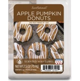 Apple Pumpkin Donuts...