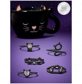 Duftkerze Meow! Black Cat Mug (Ring)