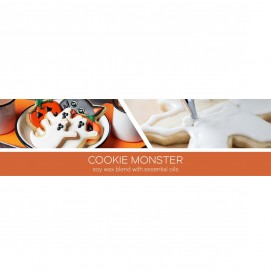 Cookie Monster - Halloween Collection 411g 3-Docht