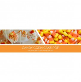 Candy Corn Cake Pop - Halloween Collection 411g 3-Docht