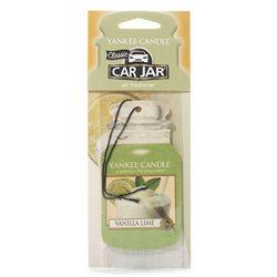 Car Jar Vanilla Lime