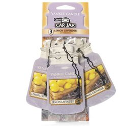 Car Jar 3er Pack Lemon Lavender