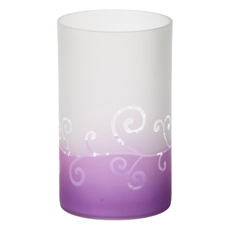 Purple Scroll Jar Holder