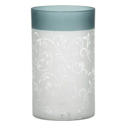Teal Vine Jar Holder