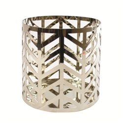 Arrow Chrome Jar Holder