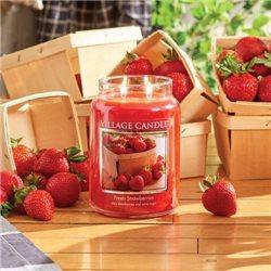 Fresh Strawberries 2-Docht 254g
