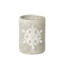 Twinkling Snowflake Jar Holder