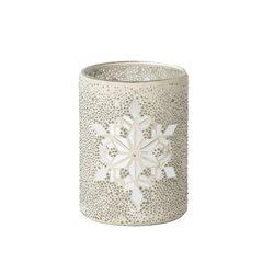 Twinkling Snowflake Jar Holder