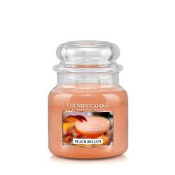 Peach Bellini (16 oz-Glas, 2-Docht)