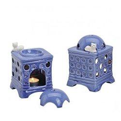 Duftlampe Kachelofen Blau