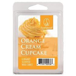 Orange Cream Cupcake
