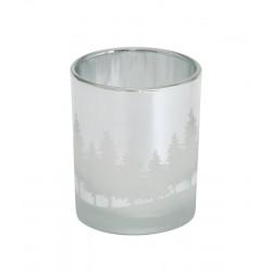 Winterscape Votivhalter Silber