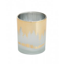 Winterscape Votivhalter Gold