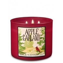 3-Docht Kerze - Apple...