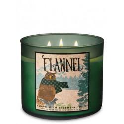 3-Docht Kerze - Flannel  -...