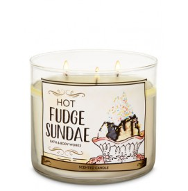 3-Docht Kerze - Hot Fudge...
