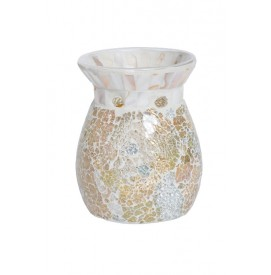Gold & Pearl Crackle Duftlampe