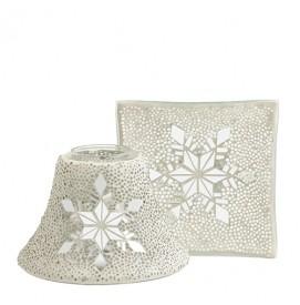 Twinkling Snowflake Schirm-Set