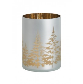 Winter Trees Jar Holder