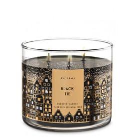 Black Tie - 3-Docht Kerze -...