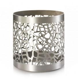 Matrix Brushed Silver Jar...