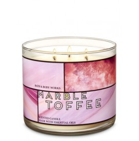 Marble Toffee - 3-Docht...
